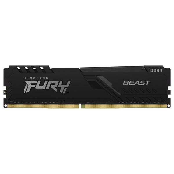 Kingston Fury Beast Black DDR4 8GB 2666MHZ CL16 Memoria RAM