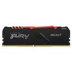 Kingston Fury Beast RGB DDR4 8GB 3000MHZ CL15  Memoria RAM