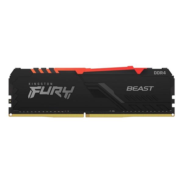 Kingston Fury Beast DDR4 32GB 3200MHz RGB CL16 - Memoria RAM