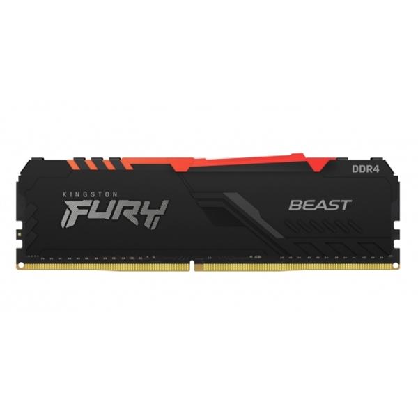 Kingston Fury Beast RGB DDR4 8GB 3200MHz CL16 -Memoria RAM
