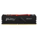 Kingston Fury Beast RGB DDR4 8GB 3200MHz CL16 Memoria RAM
