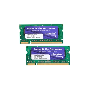 Kingston 2GB DDR2 800 PC26400 Kit 2x1GB SODIMM  Memoria
