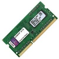 Kingston ValueRAM DDR3L 1600MHz 2GB SODIMM  Memoria RAM