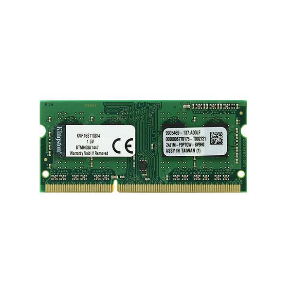 Kingston ValueRAM DDR3 1600Mhz 4GB SO-DIMM – Memoria RAM
