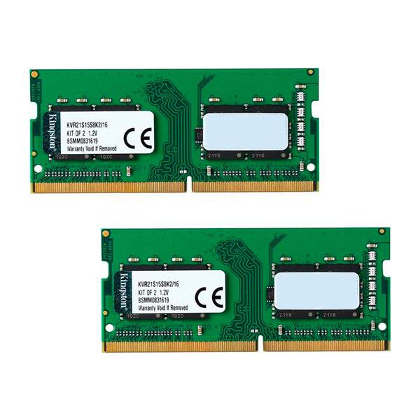 Kingston DDR4 2133MHz 16GB 22158 SODIMM 1RX8  Memoria RAM