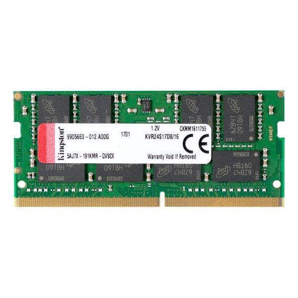 Kingston DDR4 2400MHz 16GB SODIMM  Memoria RAM