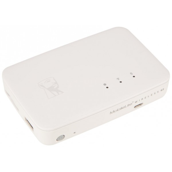 Kingston MobileLite Wireless G3 – Batería Lector de Tarjetas