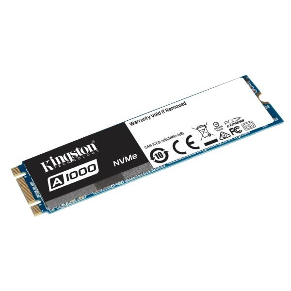 Kingston SSDNow A1000 M2 2280 NVME 240GB  Disco Duro SSD