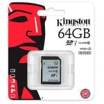 Kingston SDHC Clase 10  UHS-I 64GB - Memoria Flash