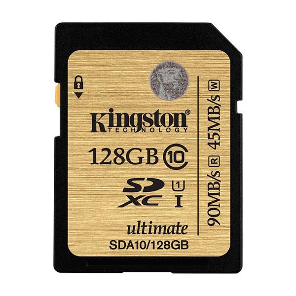 Kingston Ultimate SDXC 128GB - Memoria SD