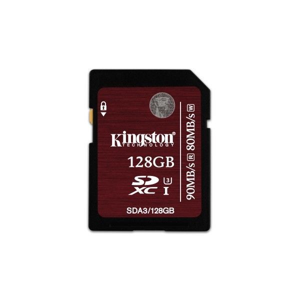 Kingston – tarjeta de memoria flash – 128 GB – SDXC UHS-I