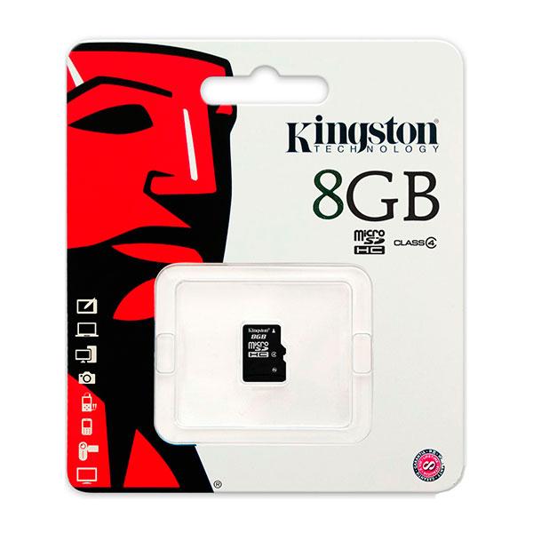 Kingston – tarjeta de memoria flash – 8 GB – Tarjeta MicroSD