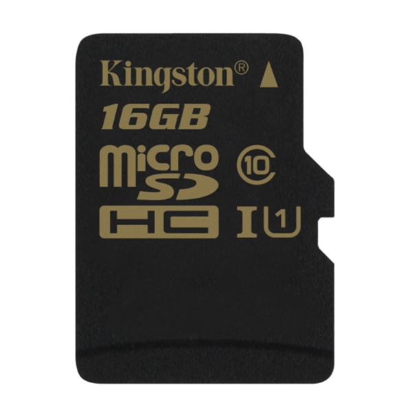 Kingston microSDHC 16GB sin adaptador – Memoria MicroSD