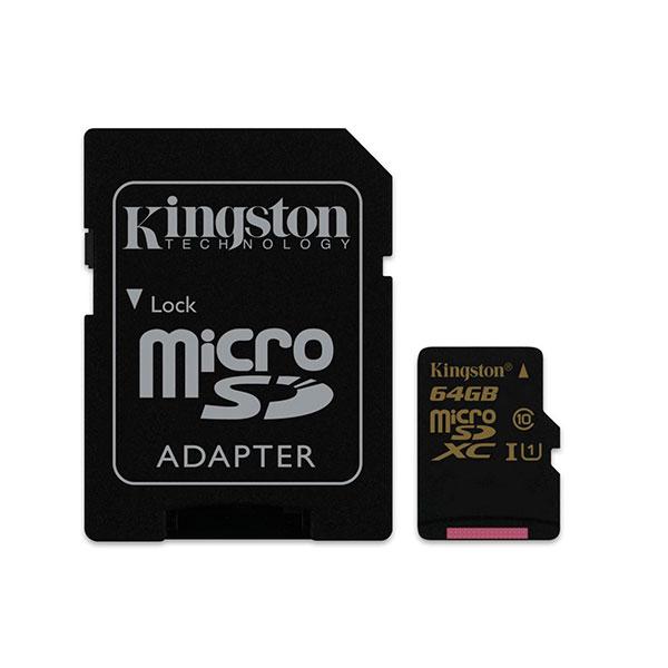 Kingston microSDXC 64GB – Memoria MicroSD