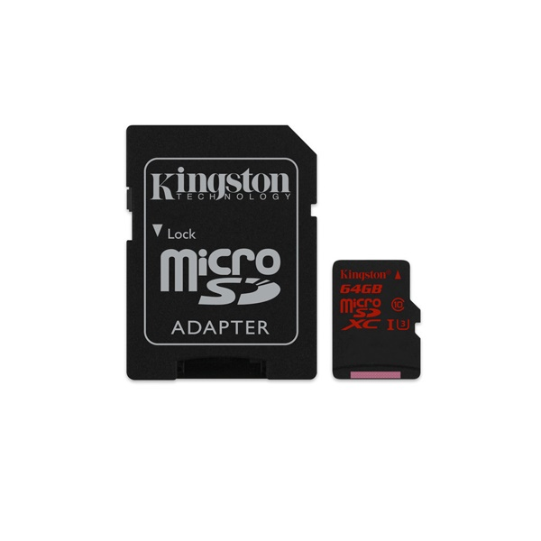 Kingston 64 GB microSDXC – Memoria Flash