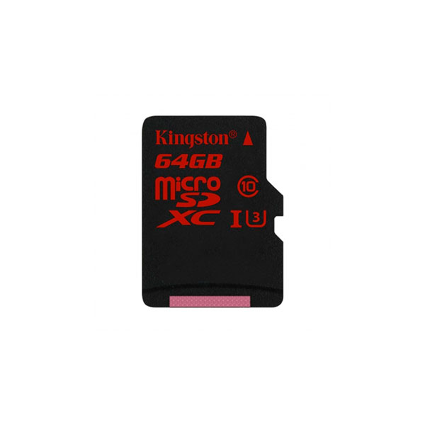 Kingston 64 GB microSDXC UHS-I U3 – Memoria Flash
