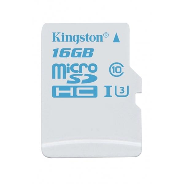 Kingston microSDHC 16GB UHS-I U3 90L/45E- Memoria MicroSD