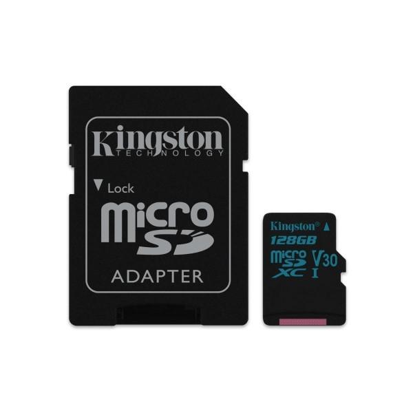 Kingston MicroSD Canvas Go 128GB cad  Memoria Flash