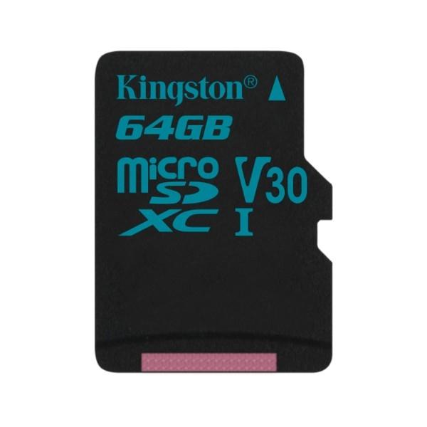 Kingston MicroSD Canvas Go! 64GB – Memoria Flash