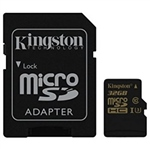 Kingston MicroSD Gold UHS-I U3 32GB c/ad – Memoria Flash