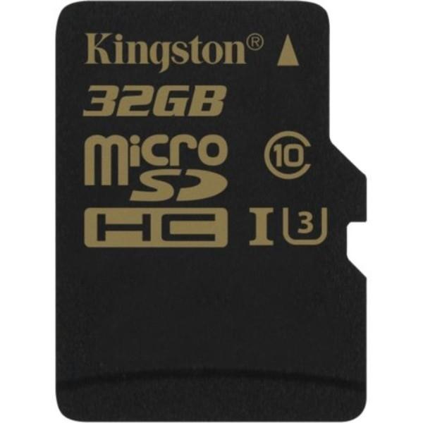 Kingston MicroSD Gold UHSI U3 32GB  Memoria Flash