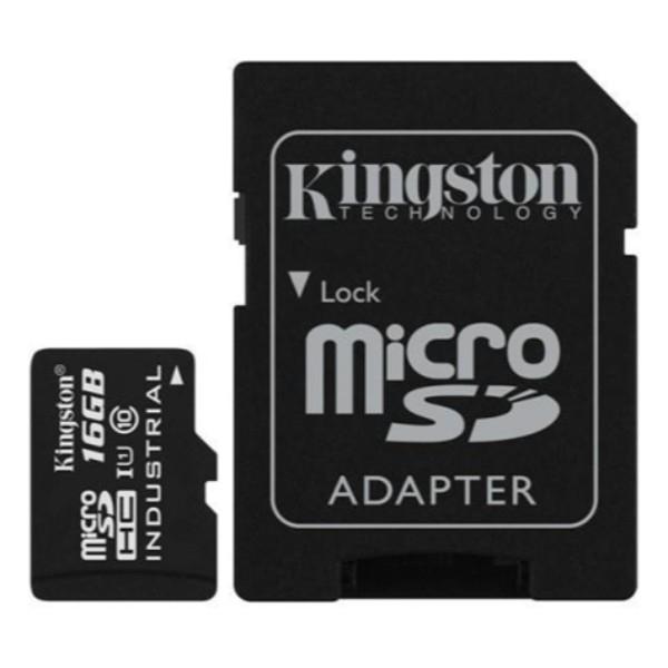 Kingston Industrial Temperature MicroSD 16GB cad  Memoria
