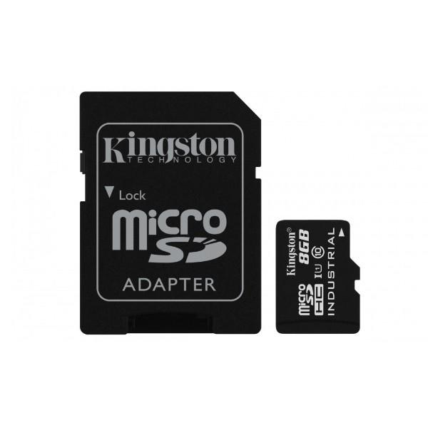 Kingston Industrial Temperature MicroSD 8GB cad  Memoria