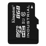 Kingston Industrial Temperature MicroSD 8GB  Memoria Flash