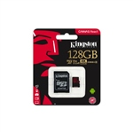 Kingston Canvas React MicroSD 128GB c/ad - Memoria Flash