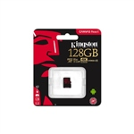 Kingston Canvas React MicroSD 128GB - Memoria Flash