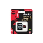 Kingston Canvas React MicroSD 32GB c/ad - Memoria Flash