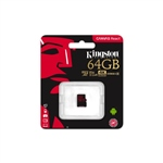 Kingston Canvas React MicroSD 64GB - Memoria Flash