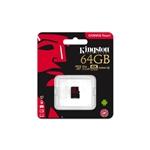 Kingston Canvas React MicroSD 64GB  Memoria Flash