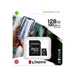 Kingston Canvas 128GB Clase 10 UHSi cAdaptador  Tarjeta MicroSD