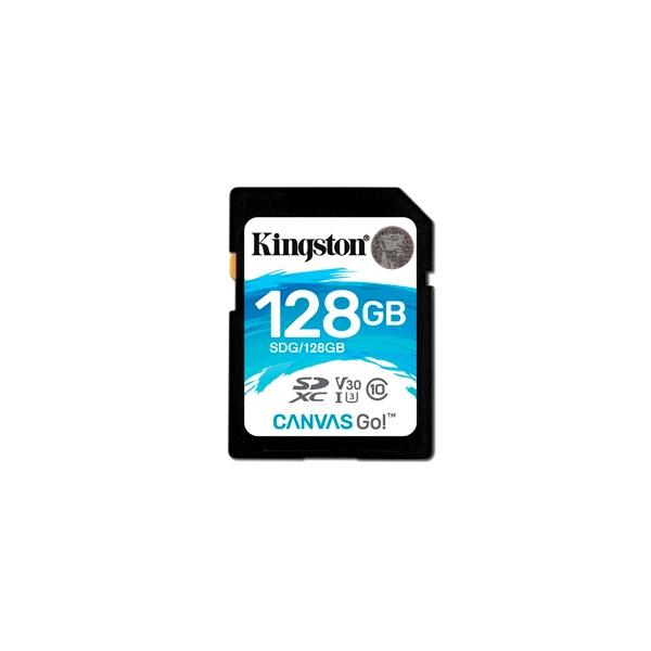 Kingston Canvas Go! SDXC 128GB - Memoria Flash