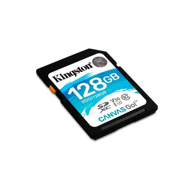 Kingston Canvas Go SDXC 128GB  Memoria Flash