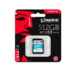 Kingston Canvas Go! SDXC 512GB - Memoria Flash