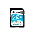 Kingston Canvas Go SDXC 512GB  Memoria Flash
