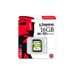 Kingston Canvas Select SDHC 16GB – Memoria Flash