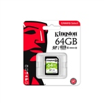 Kingston Canvas Select SDHC 64GB – Memoria Flash