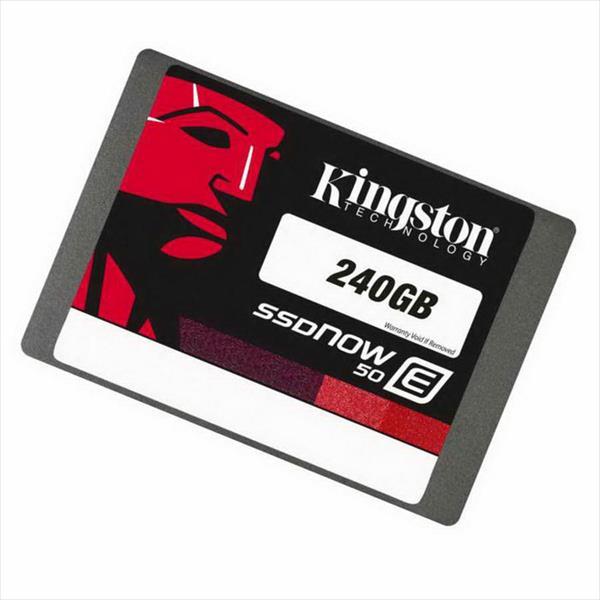 Kingston SSDNow E50 240GB  Disco Duro SSD