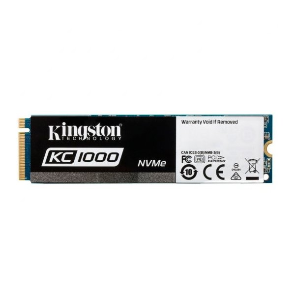 Kingston KC1000 NVMe PCIe 960GB c/a – Disco Duro SSD