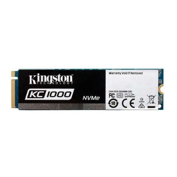 Kingston KC1000 NVMe PCIe 480GB c/a – Disco Duro SSD