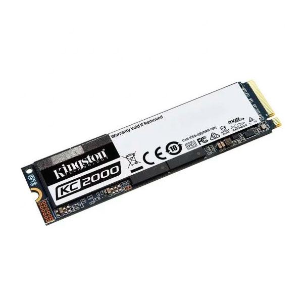 Kingston KC2000 500GB M2 NVMe PCIe  Disco Duro SSD