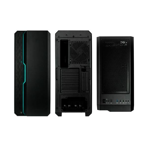 Caixa ATX Kolink Balance ARGB TG negro  Caja