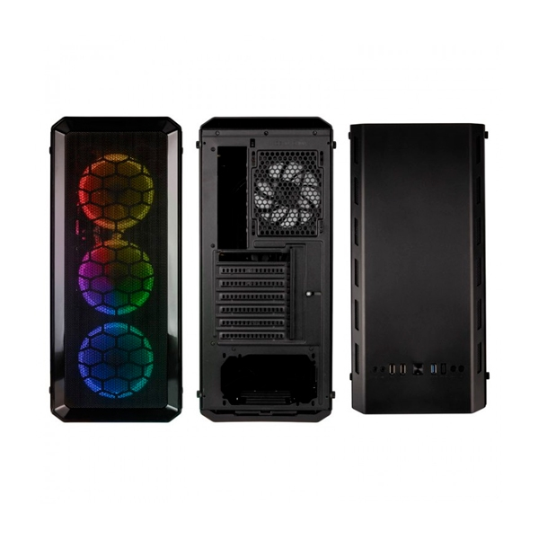 Kolink Levante RGB EATX negro  Caja