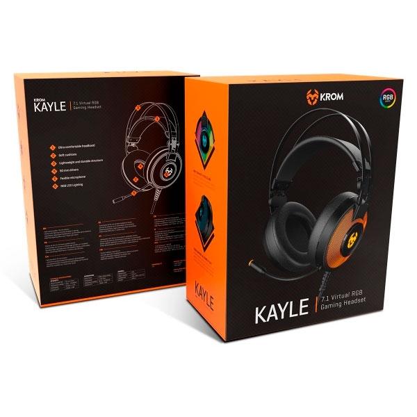 Krom Kayle RGB 7.1 - Auricular
