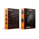 Krom Kadru negro 4000 dpi gaming - Ratón