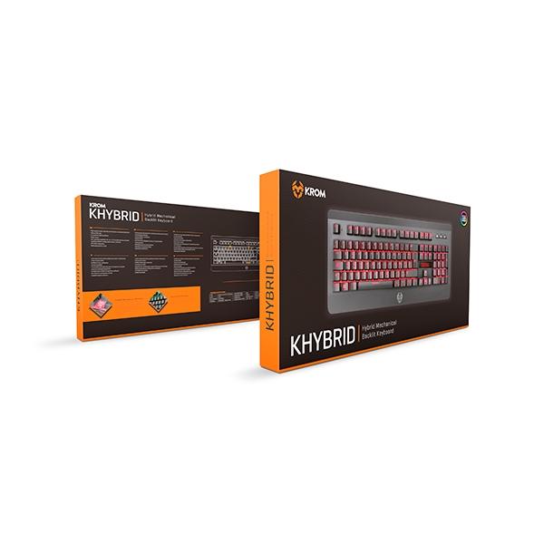 Krom Khybrid RGB hibrido - Teclado