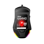 Krom Kammo MMO RGB negro  Ratn